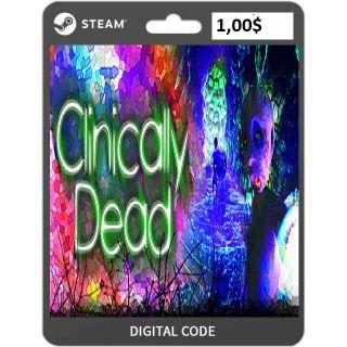 🔑Clinically Dead [steam key]