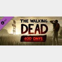 🔑🌐 The Walking Dead: 400 Days [steam key]DLC