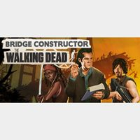 🔑🌐Bridge Constructor: The Walking Dead [steam key]