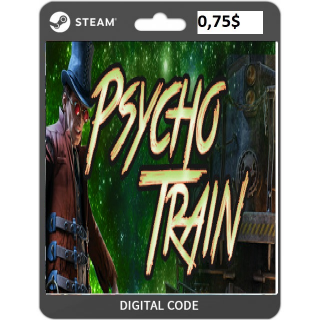 🔑Mystery Masters: Psycho Train Deluxe Edition [steam key]