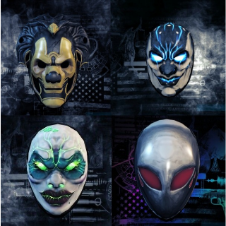 🔑Payday 2 [ steam key] DLC - 4 Exclusive Masks Pack