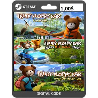 🔑Teddy Floppy Ear Bundle [3 steam key]