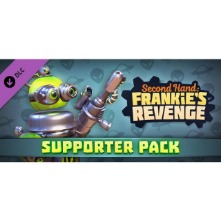 🔑Second Hand: Frankie's Revenge [ steam key] DLC - Supporter Pack