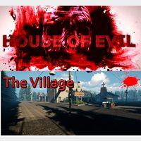 🔑🅱🆄🅽🅳🅻🅴 The Village +House of Evil [2 steam keys]