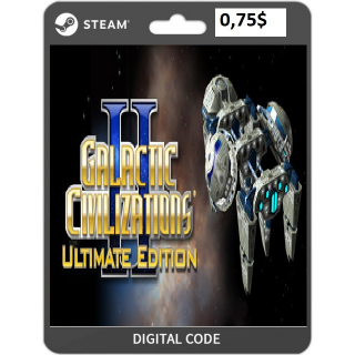 🔑Galactic Civilizations® II: Ultimate Edition [steam key]