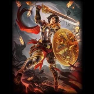 🔑 SMITE[bonus key] Bellona + Battle Maiden skin