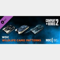 Company of Heroes 2 - Whale and Dolphin Conservation Charity Pattern Pack[steam key]DLC