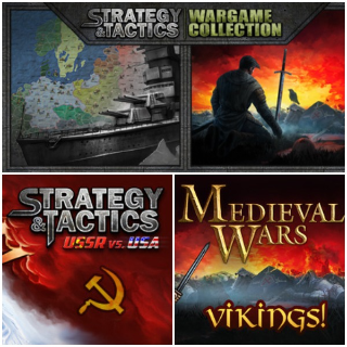 Strategy & Tactics: Wargame Collection +2 DLC [3 steam keys]