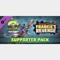 🔑Second Hand: Frankie's Revenge [ steam key] DLC - Supporter Pack