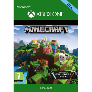 🔑Minecraft: Explorers Pack [ Xbox One] DLC