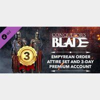 🔑🌐Conqueror's Blade [digital key] Empyrean Order Pack