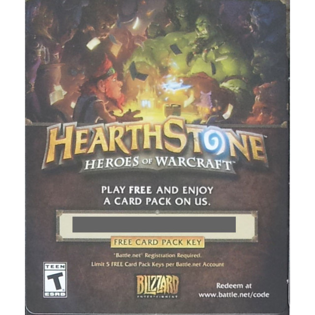 Hearthstone 5x Expert Pack codes | 25 cards - Battlenet Games - Gameflip