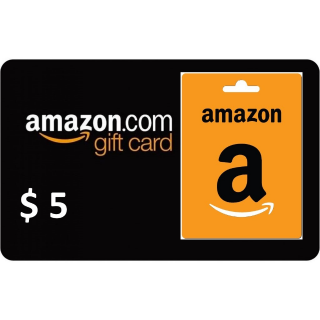 $5.00 Amazon US | BEST OFFER