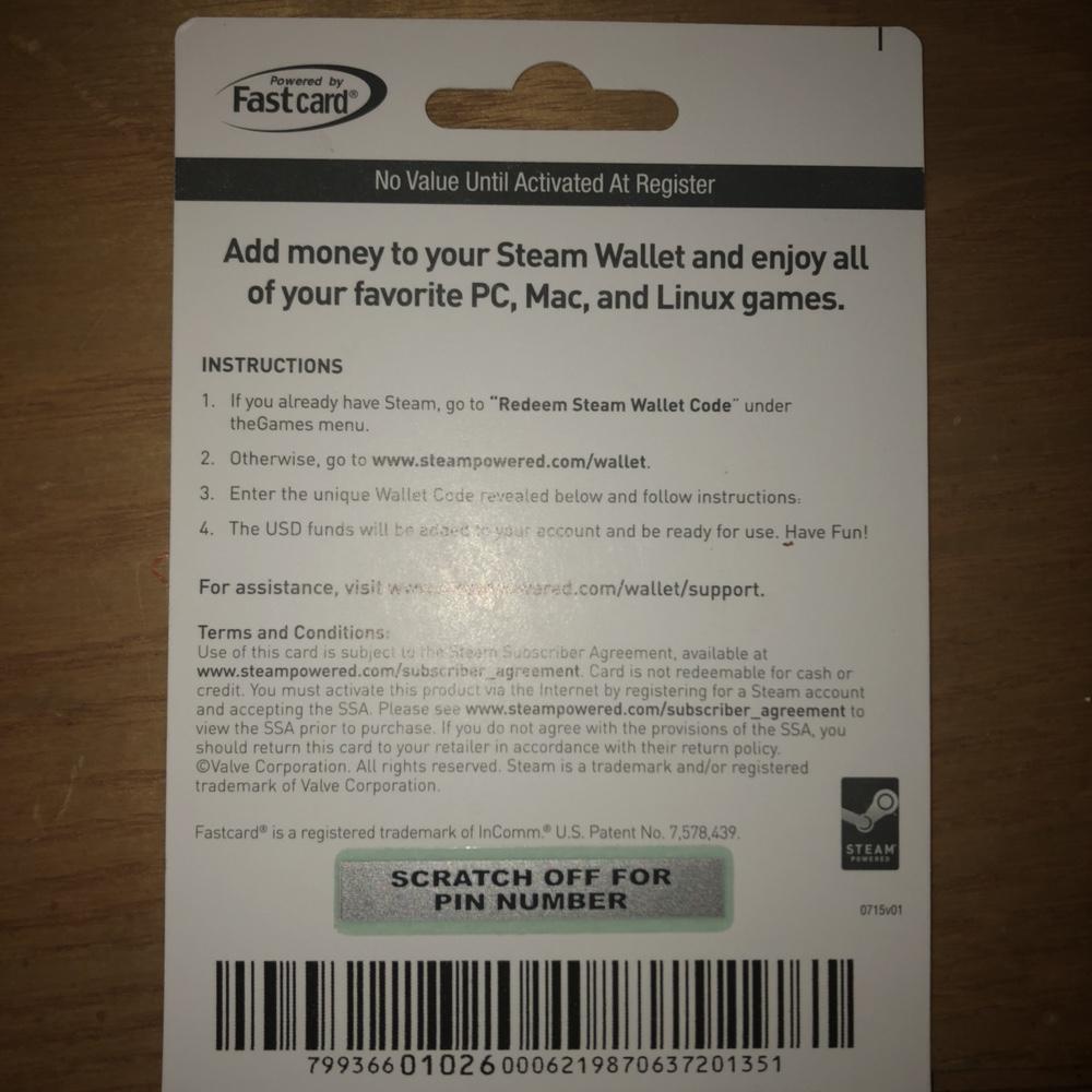 2000 Steam Gift Card Other Cards Gameflip Wallet 2