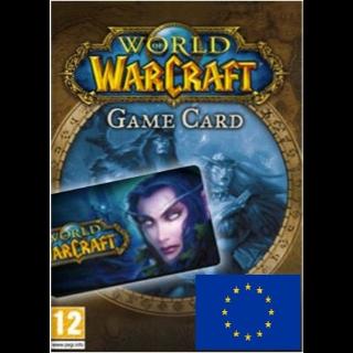 World of Warcraft 30 Days Time Card EUROPE
