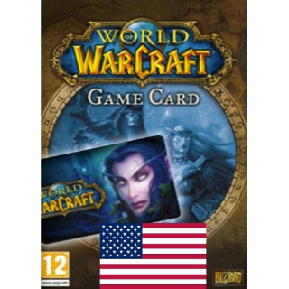 World of Warcraft 30 Days Time Card - US