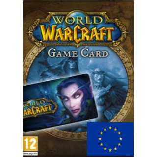 World of Warcraft 30 Days Time Card EUROPE
