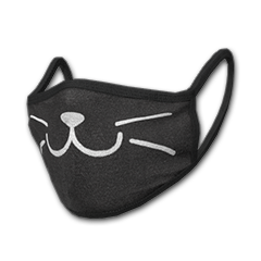 PUBG | Cat Face Mask