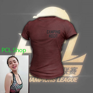 PUBG   PCL Red T-Shirt