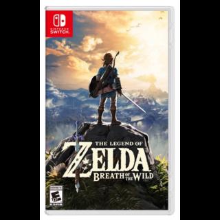 ZELDA - BREATH OF THE WILD - Nintendo Switch - INSTANT DELIVERY