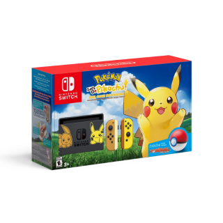 Nintendo Switch Pikachu & Eevee Edition with Pokemon: Let's Go Pikachu! Bundle (PRICE INCLUDES TAXES)