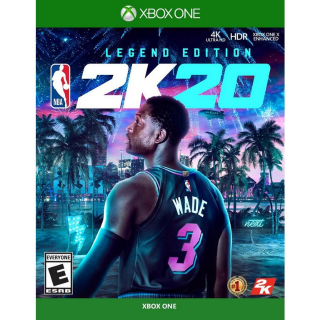 NBA 2K20 - Legend Edition - XBOX ONE - INSTANT DELIVERY