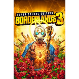 Borderlands 3 - Super Deluxe Edition - XBOX ONE - INSTANT DELIVERY