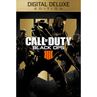 Call of Duty Black Ops 4 - The Digital Deluxe Edition