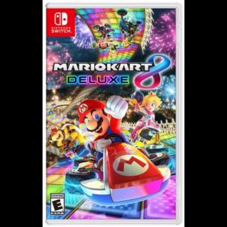 Mario Kart 8 Deluxe - Nintendo Switch - INSTANT DELIVERY