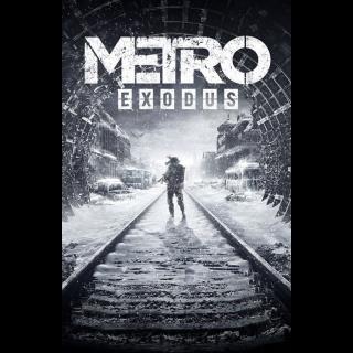 METRO EXODUS - STANDARD EDITION FOR XBOX ONE