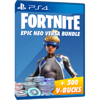 Fortnite Neo Versa - PS4 Bundle - 500 vbucks - INSTANT DELIVERY