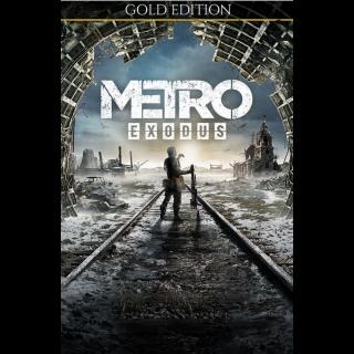 METRO EXODUS - GOLD EDITION FOR XBOX ONE