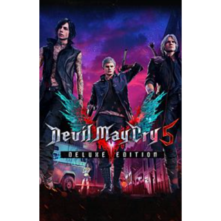 Devil May Cry 5 - Deluxe Edition - INSTANT DELIVERY