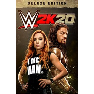 WWE 2K20 Deluxe - XBOX ONE - 48h delivery