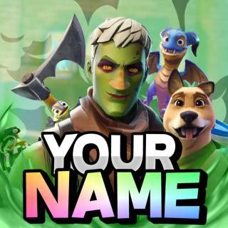 I will make you a fortnite logo/profile picture