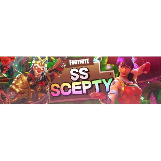 I will make you a fortnite banner/header