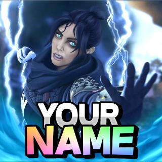 I will make you a logo/profile picture - Apex Legends