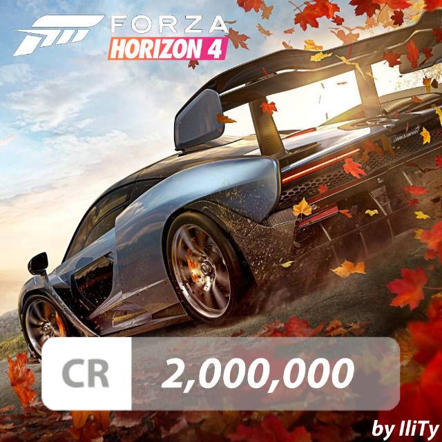 2,000,000 CREDITS - Forza Horizon 4 - Other - Gameflip