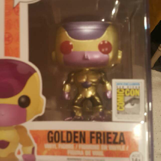 Golden Frieza (Red Eyes)