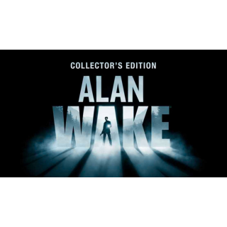 ALAN WAKE COLLECTOR'S EDITION GAME CD-KEY STEAM Global (fast delivery)