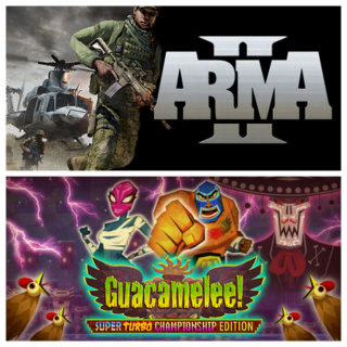 Arma 2 + Guacamelee! Super Turbo Championship Edition GAME CD-KEY STEAM Global (fast delivery)