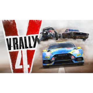 V-Rally 4 STEAM CD-KEY humblebundle GIFT & (fast delivery)