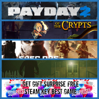 4 STEAM CD-KEY SUPER PREMIUM GAME Global + Free Gift Surprise (fast delivery)