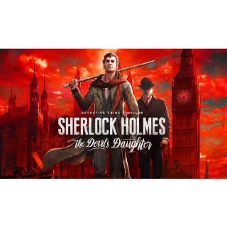 Sherlock Holmes: The Devil's Daughter STEAM CD-KEY humblebundle GIFT & (fast delivery)