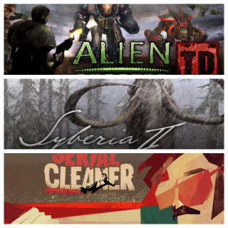 Alien Shooter TD + Syberia II + Serial Cleaner GAME CD-KEY STEAM Global (fast delivery)