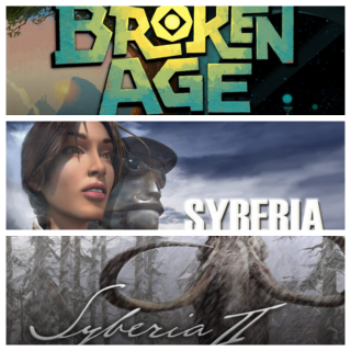 Broken Age + Syberia + Syberia II GAME CD-KEY STEAM Global (fast delivery)