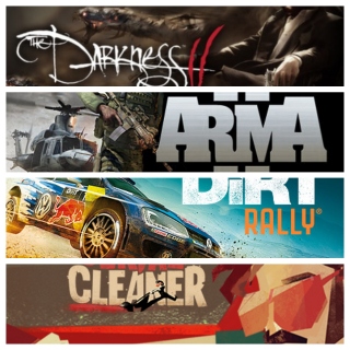 4 GAME CD-KEY STEAM Global (fast delivery)