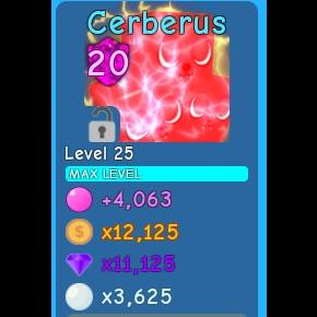 Pet | 1X CERBERUS MAX