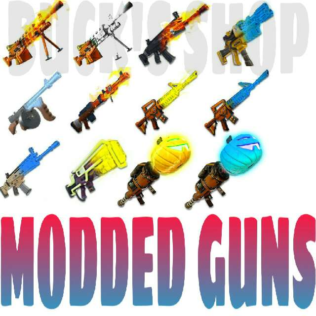 Bundle | 50X MODDED GUNS