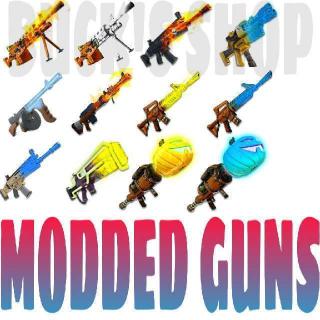 Bundle | 200X MODDED GUNS